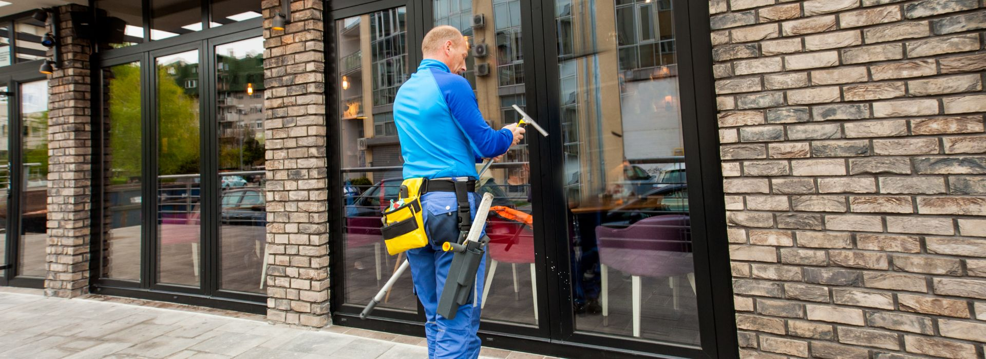 commercial window cleaners glasgow