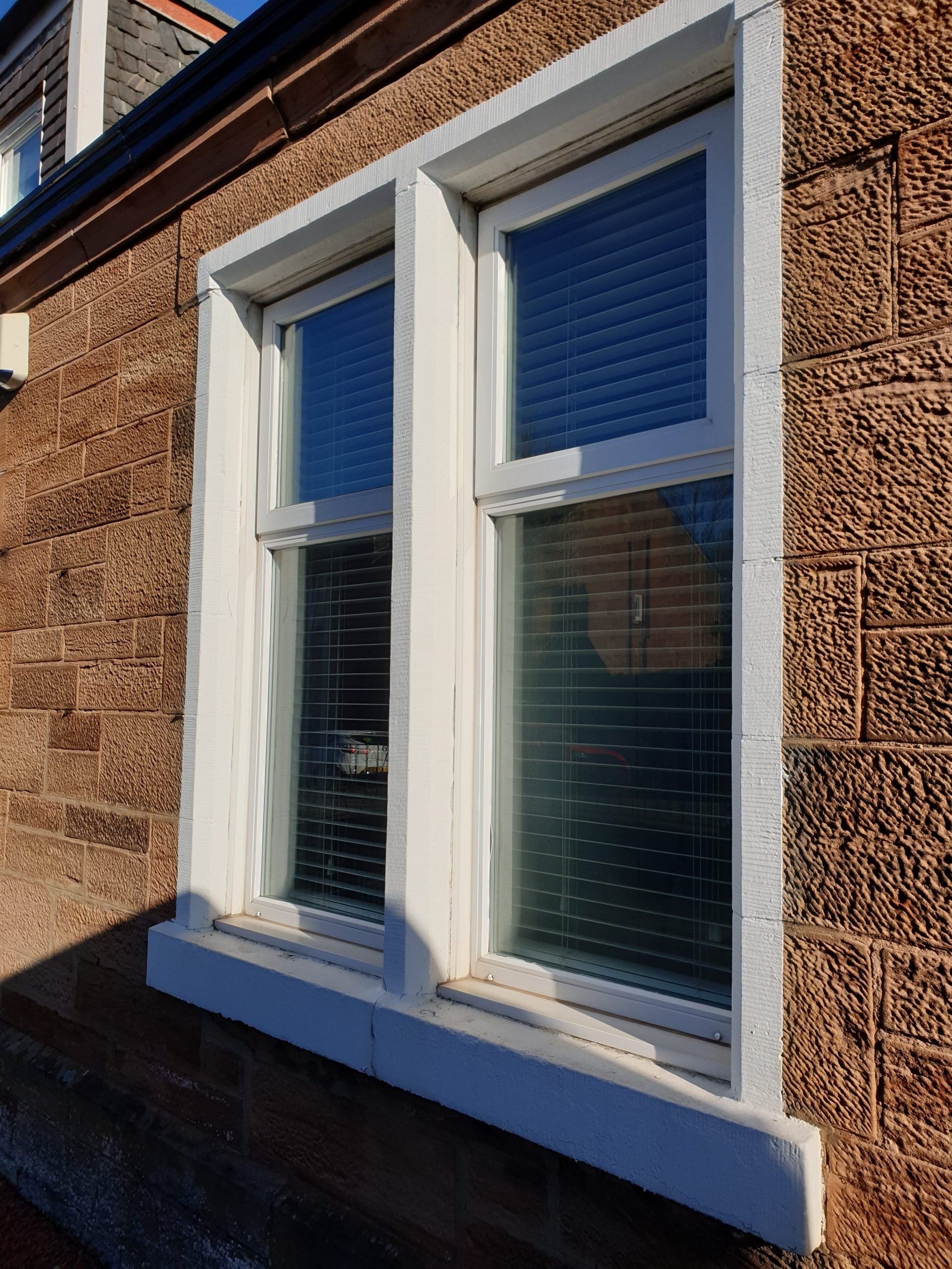Paint removal from stonework Glasgow