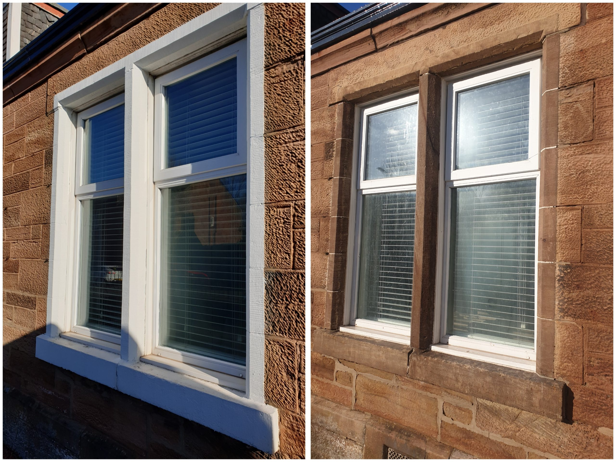sandstone paint removal Glasgow