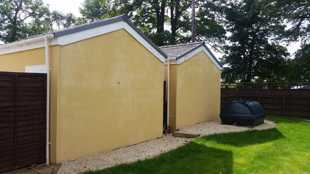 softwash cleaning render cleaning glasgow