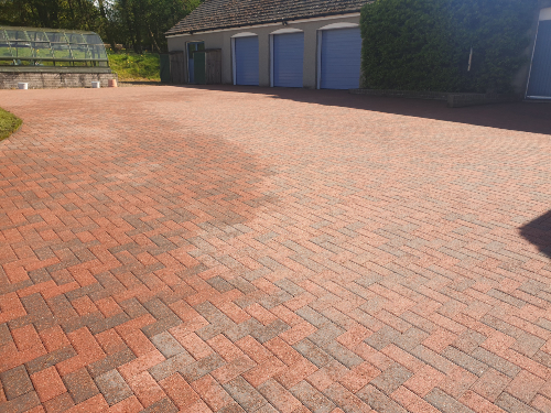 Driveway cleaning Company Glasgow