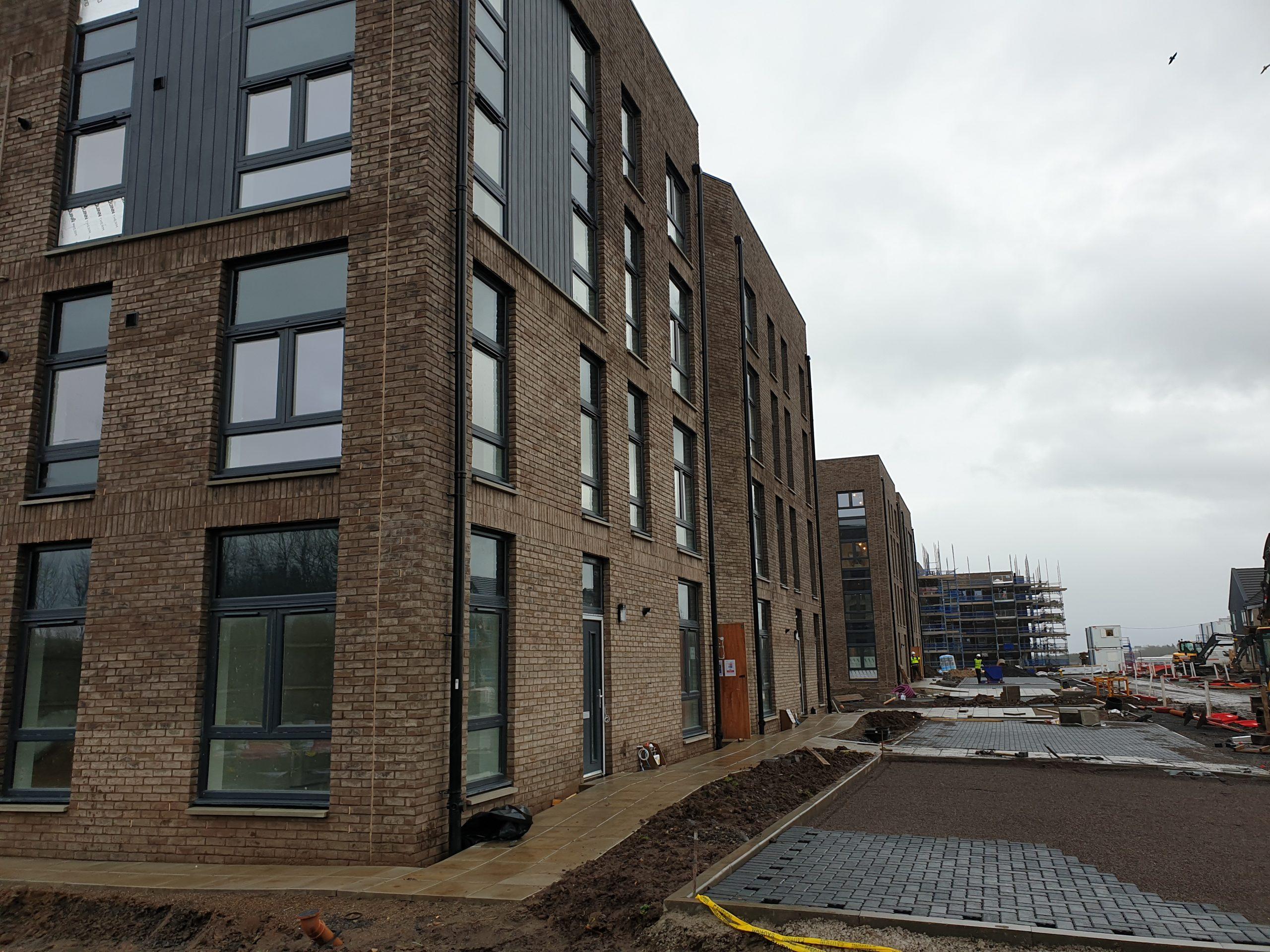 new build wash down Glasgow