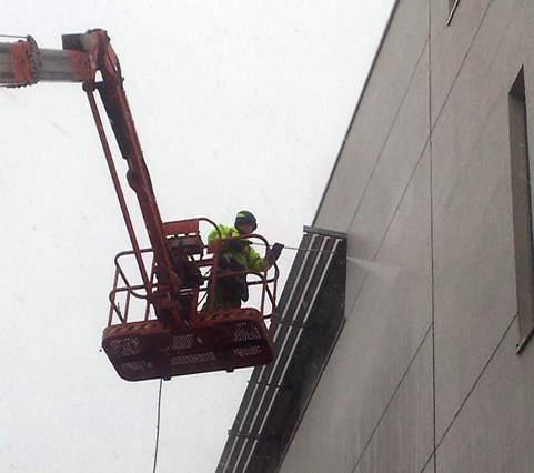 Building cleaning building jetwash Glasgow